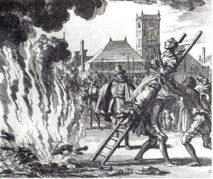 catholic inqusition burning